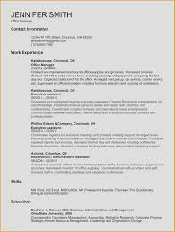 Administrative Assistant Resume Template Word Fresh Administrative