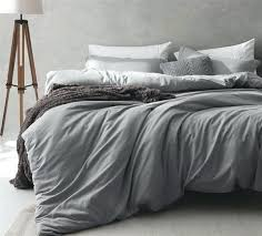 gray duvet cover cuddl duds plaid flannel set covers sets