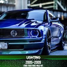 2006 Mustang Halo Lights 2005 2009 Ford Mustang Halo Kit