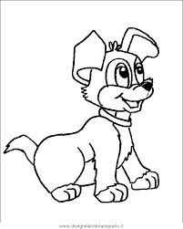 Disegno Cane063 Animali Da Colorare