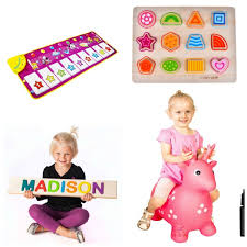 Older One Year Old Gift Ideas including puzzles, music and ride on toys. BEST Gifts for a 1 Girl! \u2022 The Pinning Mama