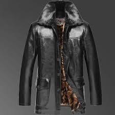 2019 whole 2017 new arrival winter famous brand mens casual faux leather jackets and coats with big fur collar plus velvet liner fur one from cutee