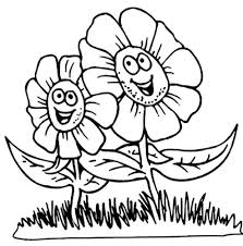 Tinkerbell Flowers Coloring Pages