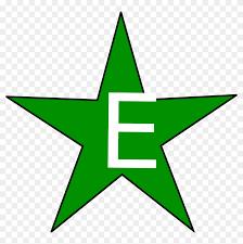 Image result for esperanto green star