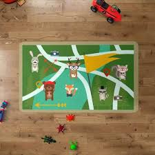 woodland nursery rug woodland creatures rug woodland animal nursery rug
