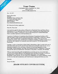 Free Download Sample Hairstylist Cover Letter Sample 4 Writing