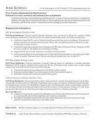 Bookkeeper Resume Amazing Full Charge Bookkeeper Resume Inspirational Resume In Charge Of
