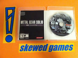Metal Gear Solid Hd Collection Ps3 Playstation 3 Sony Complete Metal Gear Solid Hd Collection Ps3 Ebay