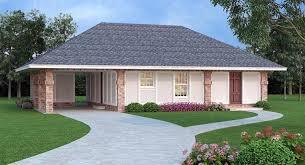 bath 1 car garage ranch house plan