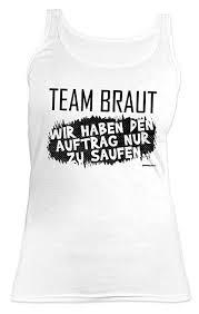 Gruppenshirt Tank Top Damen Junggesellinnen Abschied