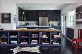 black clic kitchen interior design