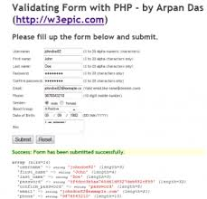 How To Validate Form With Php Server Side Validation