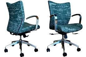 custom made office chairs. Desk Angelica: Custom Chairs Office Rustic Makeup Wood Painted Blue  Color Black Chair Fabric Custom Made Office Chairs R
