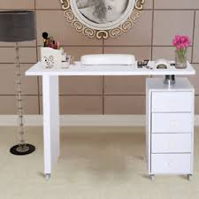 image is loading 3 4 drawers storage manicure table desk salon