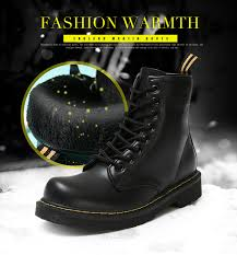 <b>Winter</b> Ankle Boots <b>Pu Leather Women</b> Boots for Martin Boots ...