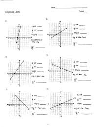 tasty graphing linear equations worksheet with answer key jennarocca solving systems of by algebra 1 answe