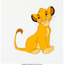 The Lion King Simba Color Model Cel (Walt Disney, 1994).... | Lot #30197 |  Heritage Auctions