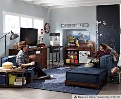Interesting Basement Bedroom Ideas For Teenagers Teen Game Rooms Cushy Stadium Lounge Pbteen Impressive Design