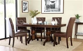 dark dining room table dark wood extending dining table with 6 club brown chairs dark oak