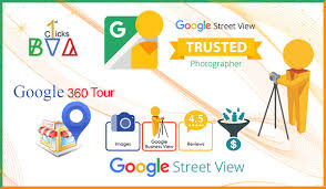 google business view or 360 virtual tours