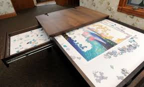 puzzle table by ohio couple is a hit on