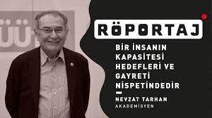 """Prof. Dr. Nevzat Tarhan: """"Bir insanın kapasitesi hedefleri ve gayreti  nispetindedir."""" - YouTube"""