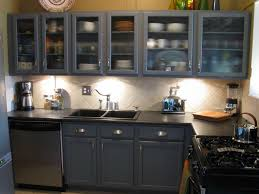 kitchen charming frosted glass kitchen cabinet door with small grey painted wood glass kitchen cabinet door and white ceramic backsplash also black modern
