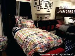 madras bedding madras quilt pottery barn teen and kids beds and bedding mariner madras quilt madras