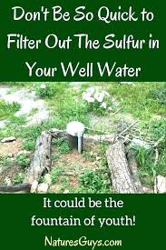 How To Remove Sulfur Smell From Water How To Remove Sulfur From Water Jovergaard