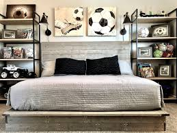 bedroom kids sports bedroom decor football decorating ideas room wall gorgeous car wallpaper accessories vintage