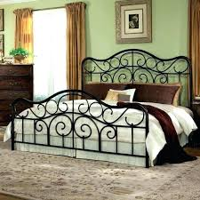 Black Iron Bed Frame King Wrought Iron Bed Me King Best Bedroom ...