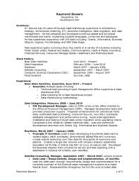 Business Objects Resume Sample 100 Sap Bo Resume Sample