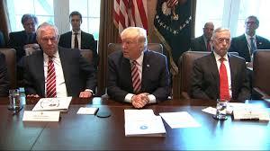 President Trump's first full cabinet meeting - CNN Video