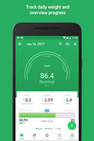 Monitor Daily Weight Change And Plan Progress Weight Track