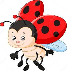 Výsledek obrázku pro beruška kreslená | Ladybug cartoon, Ladybug, Ladybird