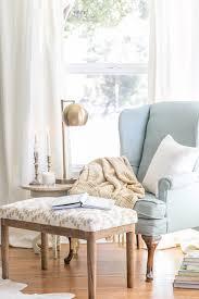 Cozy Reading Chair mini makeover: cozy reading nook   gardner-white blog