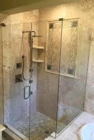Glass Enclosed Showers glass shower enclosures jacksonville fl baker glass 1377 by xevi.us