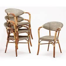 bolero plastic rattan chair with
