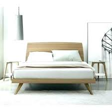Modern Low Bed Style Bedroom Furniture Featured Modern Low Queen Bed ...