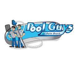 pool cleaning logo. Pool-guys-plam-beach-logo Pool Cleaning Logo |