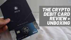 Visa, evolve bank and credit card firm deserve are partnering with cryptocurrency startup blockfi to offer a credit card that lets users earn bitcoin on purchases. Crypto Com Debit Card Review Video Blue Card Youtube