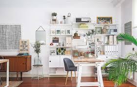 scandinavian office design. Reportaje Piso Scandinavian-home-office-and-library Scandinavian Office Design O