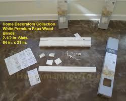 home decorators faux wood blinds