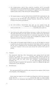Memorandum Of Agreement Sample