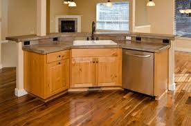 Two Tier Kitchen Island Designs 30 Kitchens With Two Tier Islands Nice Feature Kitchen