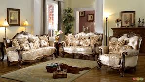 Beautiful victorian living room set HD9F17 TjiHome