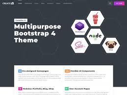 3 Template Createx Multipurpose Template Ui Kit Bootstrap Themes