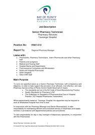 Nurse Tech Job Description Resume Pharmacy Technician Job Description For Resume Resumes Retail Skills 22