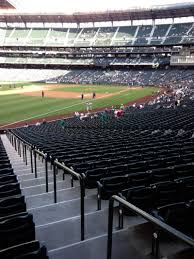 T Mobile Park Section 147 Row 35 Seat 34 Seattle Mariners