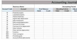 Simple Accounts Template Simple General Ledger In Excel Format Have Following Parts
